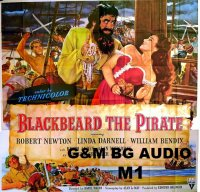 Blackbeard, the Pirate / Черната брада (1952)